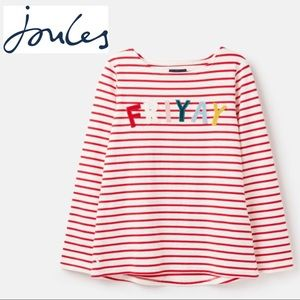 Joules FRIYAY Harbour Luxe Long Sleeve Jersey Top